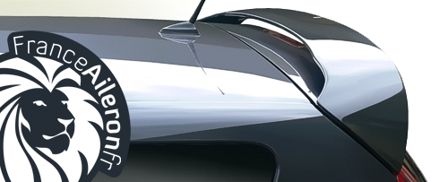 Aileron pour Renault Scenic 3