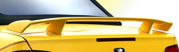 Spoiler pour Peugeot 306 Cabriolet