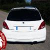 Aileron RC pour Peugeot 207
