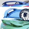 Aileron pour Peugeot 307CC