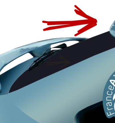 Becquet Supérieur pour Citroën Xsara & Xsara Coupé