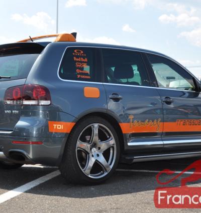 Becquet pour VW Touareg