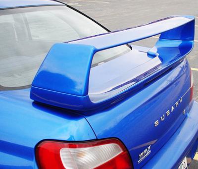 Aileron WRX STI pour Subaru Impreza