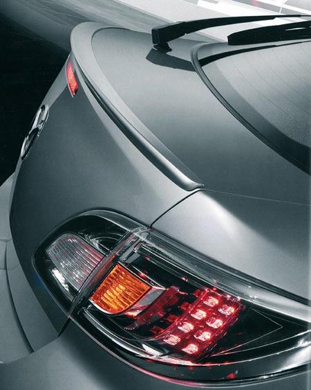 Becquet / Lame de coffre Origine pour Mazda 6 (phase 2)