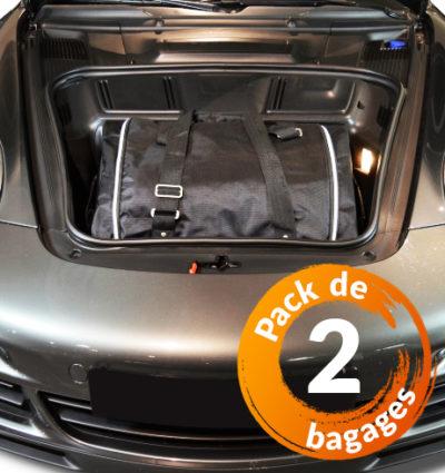 Porsche 911 (991) 4 roues motices (de 2011 à Aujourd'hui) - Pack de 2 sacs de voyage sur-mesure