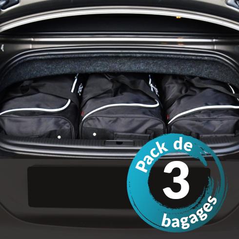 Volvo V60 Plug-In Hybrid (de 2012 à Aujourd'hui) - Pack de 3 sacs de voyage sur-mesure