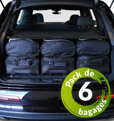 Audi A5 Sportback (8TA) (de 2009 à Aujourd'hui) - Pack de 6 sacs de voyage sur-mesure