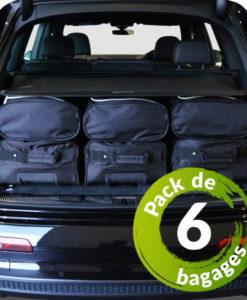Seat Exeo ST / Break (3R) (de 2008 à 2013) - Pack de 6 sacs de voyage sur-mesure