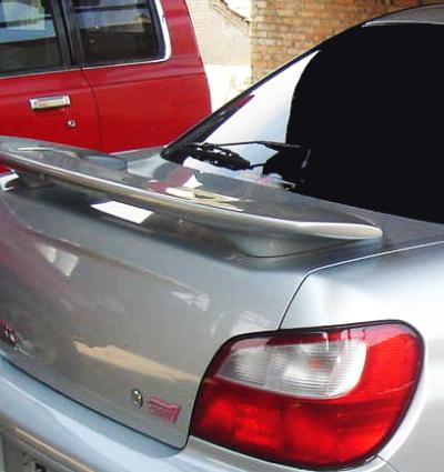 Spoiler WRX STI pour Subaru Impreza